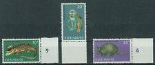 Suriname Briefmarken 1969 Tierpark Paramaribo mit Rand Mi 558 bis 560 **
