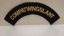 2 New Compatwingslant Commander Patrol Wings Atlantic Patches Patch USN Navy