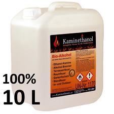 10 L Bioethanol 100% Ethanol 10 Liter Bio Alkohol 10 L Kanister Kamin Ausgießer