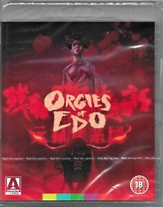Orgies Of Edo Blu Ray Region B Includes Registered Post