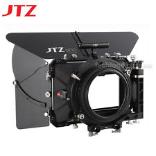 "US JTZ DP30 Carbon Fiber 4x5.65"" Matte Box 15mm/19mm For Sony ARRI Canon DSLR"