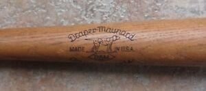 Antique Vintage Draper Maynard D&M DS 44 Lucky Dog Vernon Stephens Baseball Bat