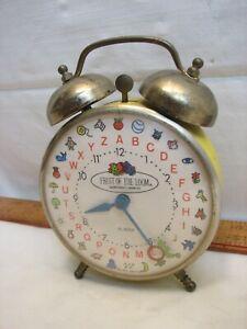 Vintage Advertising Fruit of the Loom Alarm Clock Pakter 1972 Robert Shaw Lux