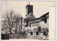 Ansichtskarte Eisenach - Blick auf die Wartburg - schwarz/weiß