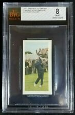 1971 Barratt Famous Sportsmen Gary Player Rookie Card RC BGS BVG 8 NM-MT HOF