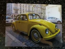 Beetle VW Volkswagen Photo Yellow
