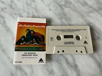 The Monkees Greatest Hits CASSETTE Tape 1972 Arista ATC 4089 I'm A Believer RARE