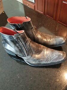 Robert Wayne Ankle Boots Mens Size 13-Disturb