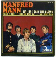 MANFRED MANN : EP FONTANA 465376 - HA HA ! SAID THE CLOWN