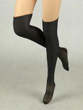 1/6 Phicen, Hot Toys, Kumik, TBLeague, Pop Toys Female Black Knee-High Stockings