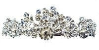 CRYSTAL TIARA - T157 - IDEAL FOR WEDDINGS, PROMS, CELEBRATIONS ETC.