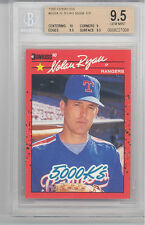 1990 Donruss Nolan Ryan ER (HOF) (#659A) (Pop of 1 as of 02/01/2017) BGS9.5 BGS