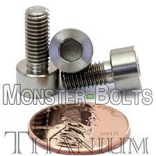5mm x 0.80 x 12mm - TITANIUM SOCKET HEAD CAP Screw - DIN 912 Grade 5 Ti M5 Hex