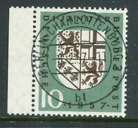 BRD Mi-Nr. 249 - zentrisch - Vollstempel - Berlin-Charlottenburg - Gummierung