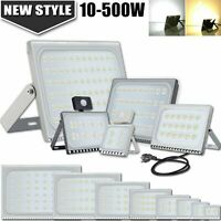 LED Floodlight Spotlight 10W-100W Security Flood Lights IP65 Outdoor Garden
