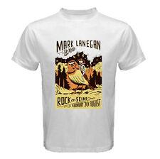 THE MARK LANEGAN Tour World  Band T shirt Sz: S-M-L-XL-2XL White