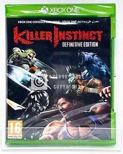 Killer Instinct Definitive Edition - Xbox One - Brand New   Region Free   UK Imp