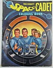 TOM CORBETT SPACE CADET COLORING BOOK 1950 SAALFIELD