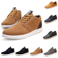 Men's Athletic Casual Sports Running Shoes Lace Up Walking Sneakers Low Top Size
