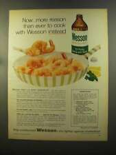1959 Wesson Oil Ad - Shrimp Biloxi Recipe