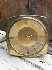 Ancienne rare horloge pendulette bureau  8 days jours OMEGA CAL LEMANIA  old