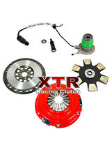 XTR STAGE 4 CLUTCH KIT+SLAVE CYL+CHROMOLY FLYWHEEL for CHEVY CORVETTE C6 Z06 LS