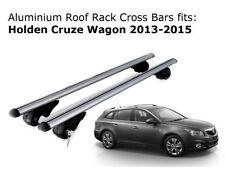 Aluminium Roof Rack Cross Bars fits Holden Cruze Wagon with roof rails 2013-2015