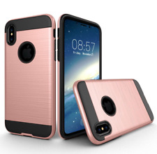 Shockproof Rugged Hard Hybrid Silicone Armor Case Cover For iPhone Most Models