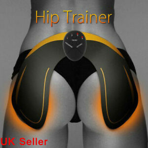 EMS Hip Buttock Muscle Toning Belt Trainer Toner Push Up Stimulator Machine UK