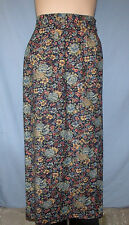 On The Verge Lightweight Cotton Wrap Skirt Size 8 Career or Casual 28/