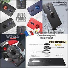 Coque housse Etui magnétique Finger Ring Kickstand Cover Xiaomi Pocophone F1
