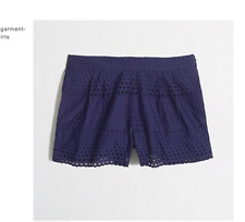 J Crew Women's Scalloped Eyelet Short, Size 6, Great condition