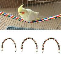 40/60/80cm Pets Birds Parrot Cotton Rope Chewing Parrot Climbing Standing Toys