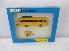 Brekina 5251 Mercedes Benz Bus Deutsche Bundespost mit Anhänger WS427