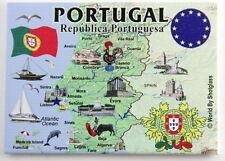 "PORTUGAL EU SERIES FRIDGE COLLECTOR'S SOUVENIR MAGNET 2.5"" X 3.5"""
