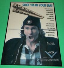 Chad Smith Red Hot Chili Peppers 1994 Glossy Drumstick Dealer Counter Display