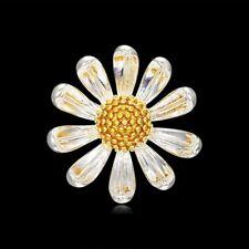 Pin Shirt Collar Breastpin Costume Jewelry Women Sun Flower Plant Corsage Brooch