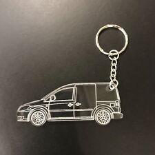 VW Volkswagen Caddy 2k laser cut Acrylic Keyring - key chain