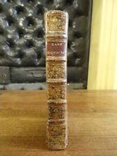 L'art du Poète et de l'Orateur Papon Perisse 1765 Relié Plein Basane EO