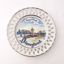 Vintage Disneyland Tomorrowland Collectible Plate Rare Eleanore Welborn USA