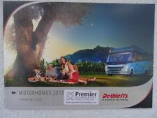 Dethleffs Motorhome Sales Brochure 2015 - Globetrotter XL & XXL - 67 pages.