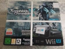 Neuf Console Nintendo Wii U Premium Pack Xenoblade Chronicle X edition limitée