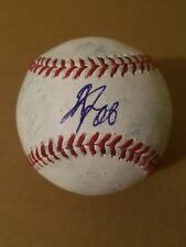 Yoshihisa Hirano SIGNED GAME USED Official Major League Baseball /proof pic