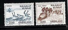 Greenland #146-47 Mnh =Dealer Liquidation Sale=