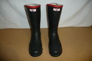 ARGYLL Wellington Boots Mens Black Size UK 11 - Made in Britain (w398)