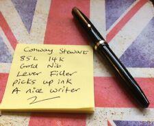 Vintage Collectable Conway Stewart Fountain Pen 85L 14k Nib