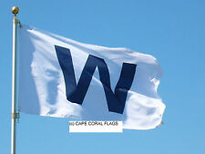 "CHICAGO CUBS ""W"" WIN FLAG MLB 2' X 3'"