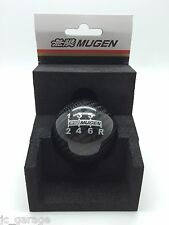 MUGEN CARBON FIBER BLACK 6 SPEED SHIFT GEAR KNOB HONDA CL7 CL9 FD2 FN2 DC5 S2000