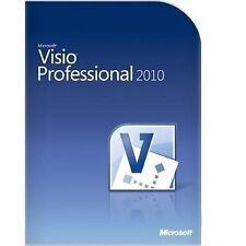 Microsoft Office Visio 2010 Professional (Box) (1) - Vollversion für Windows D87-04394
