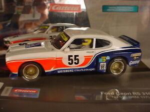 Carrera Ford Capri RS3100 #55 DRM 1975 27629 MB 1/32 slot car
